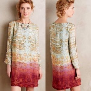 Anthropologie Maeve Cleome Dress